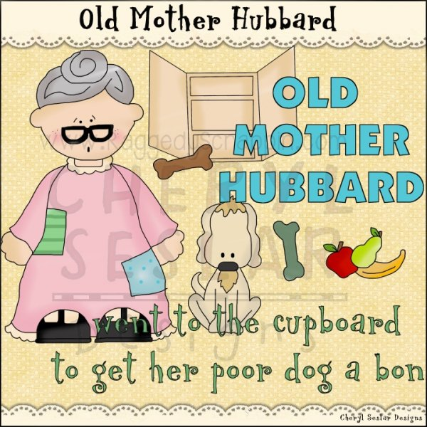 Old Mother Hubbard Clip Art Download [RS97915].