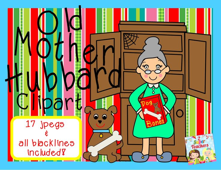 Old mother hubbard shoe house clipart.