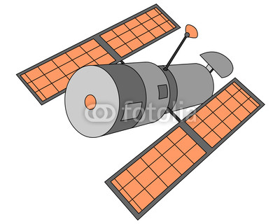 Hubble Telescope Clip Art.