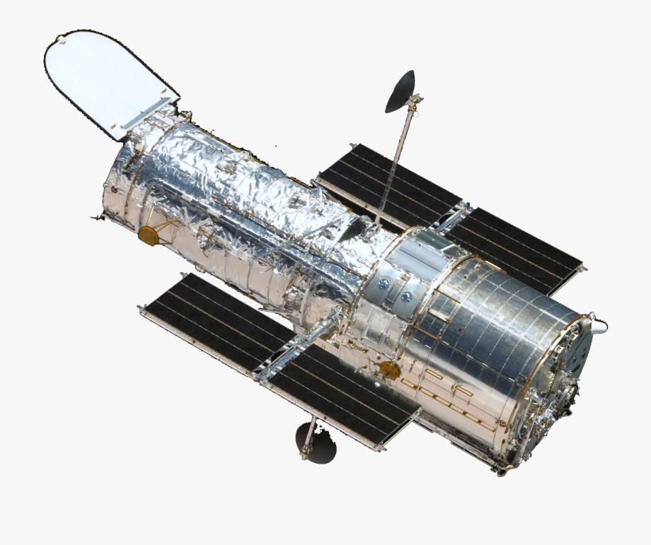 A Photo Of The Hubble Space Telescope Spacecraft.