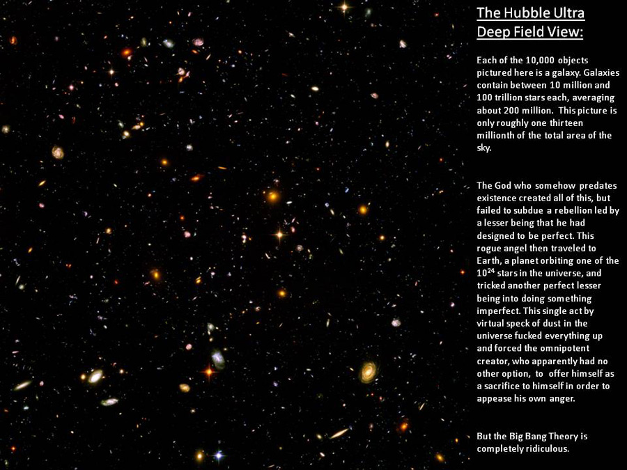 The Hubble ultra.