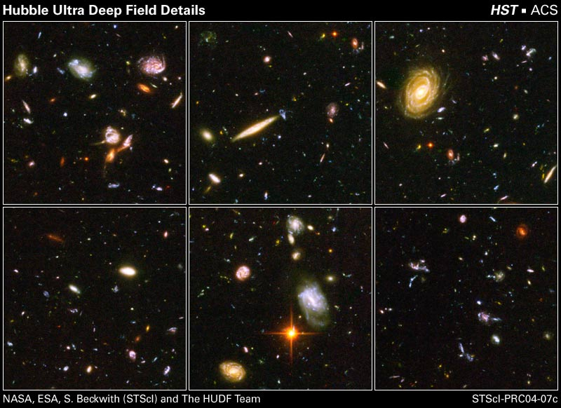 Hubble Telescope ★ Space Photographs 2014 Composite: Deep and.