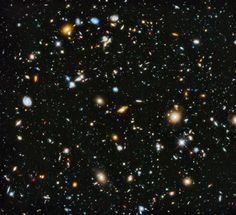 Hubble Ultra Deep Field HD Wallpaper.