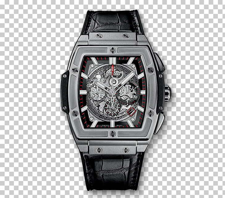 Chronograph Hublot Classic Fusion Automatic watch, watch PNG.