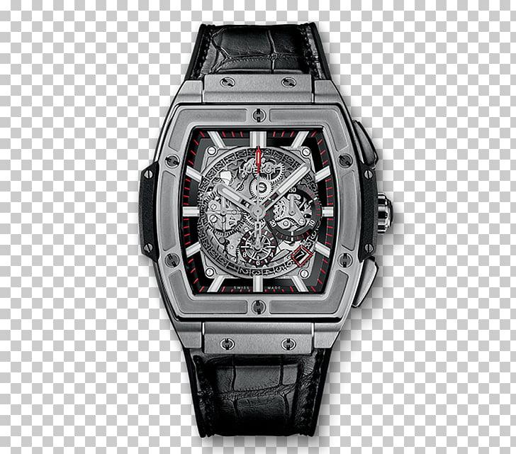Chronograph Hublot Classic Fusion Automatic watch, watch PNG.