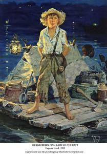 Huck Finn Clipart.