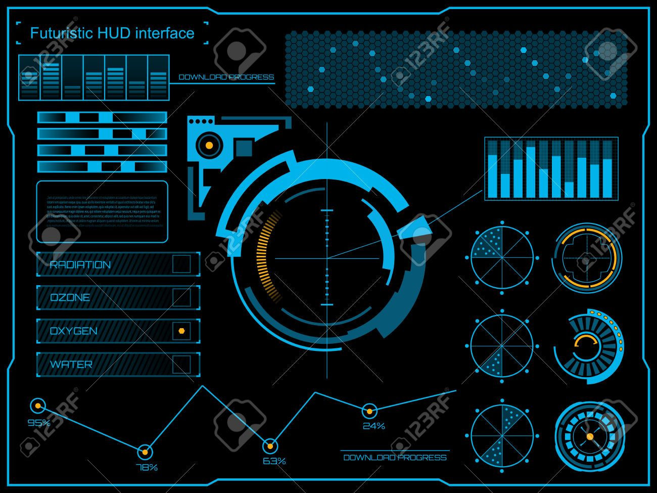 Pin on futuristic interface.