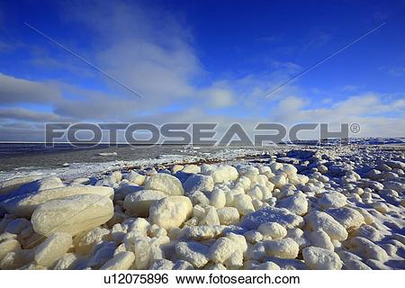 Stock Images of Hudson Bay Lowlands, Churchill, Manitoba, Canada.