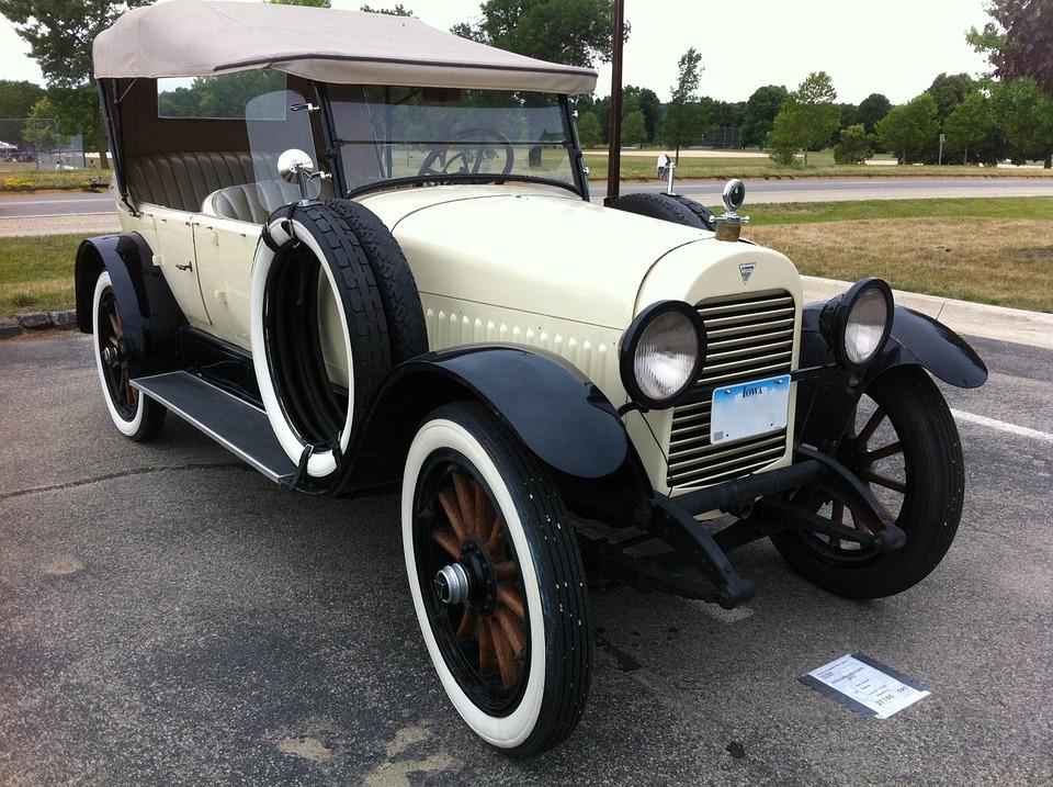 Free photo: Hudson Phaeton 1921, Car.