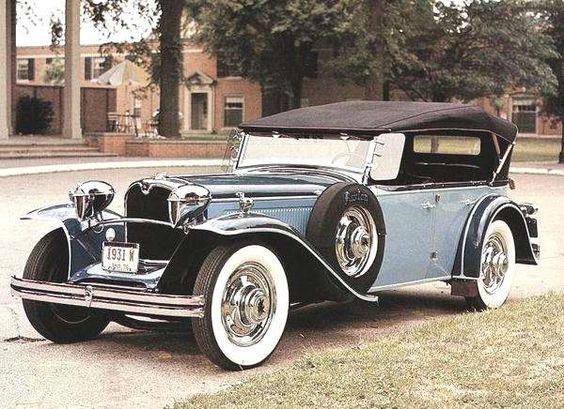 1931 Ruxton Phaeton.