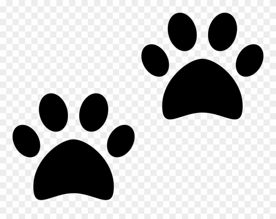Pawprint Svg Cartoon.