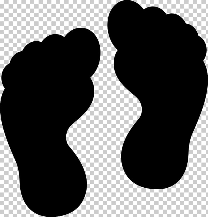 Footprint Drawing Computer Icons, huellas PNG clipart.