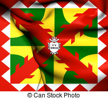 Flag of huesca city spain Illustrations and Clip Art. 6 Flag of.