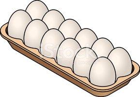 Eggs Stock Vector.