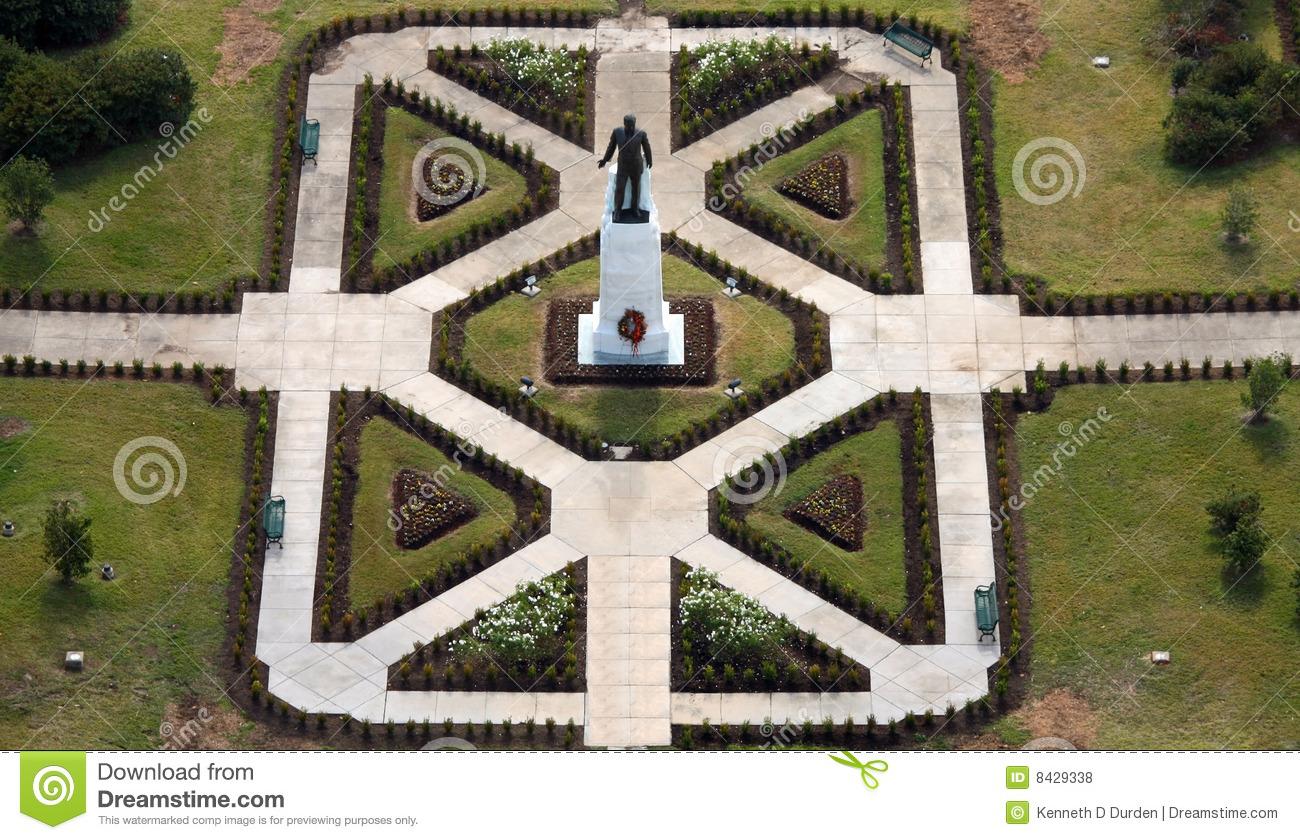 Louisiana Huey P Long Statue And Grave Royalty Free Stock Photos.