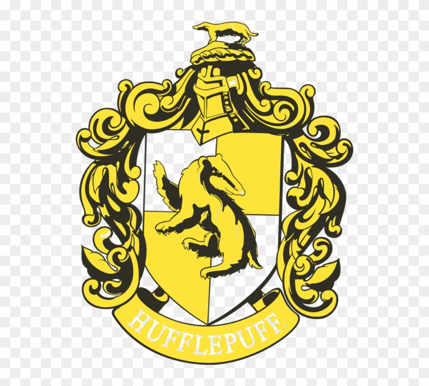 Hufflepuff Crest, HD Png Download.