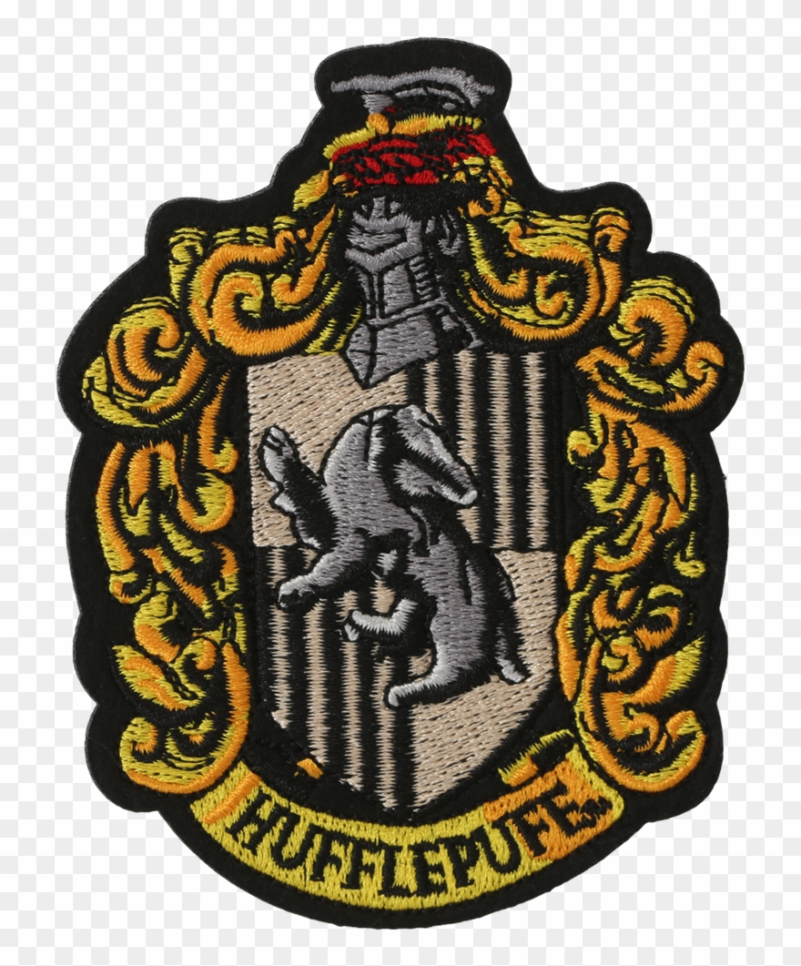 Hufflepuff Crest Embroidered Patch001 V=1533024501.