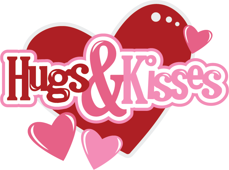 Hugs & Kisses SVG Scrapbook files svg files for scrapbooking svg.