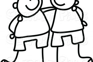 Hug clipart black and white 8 » Clipart Station.