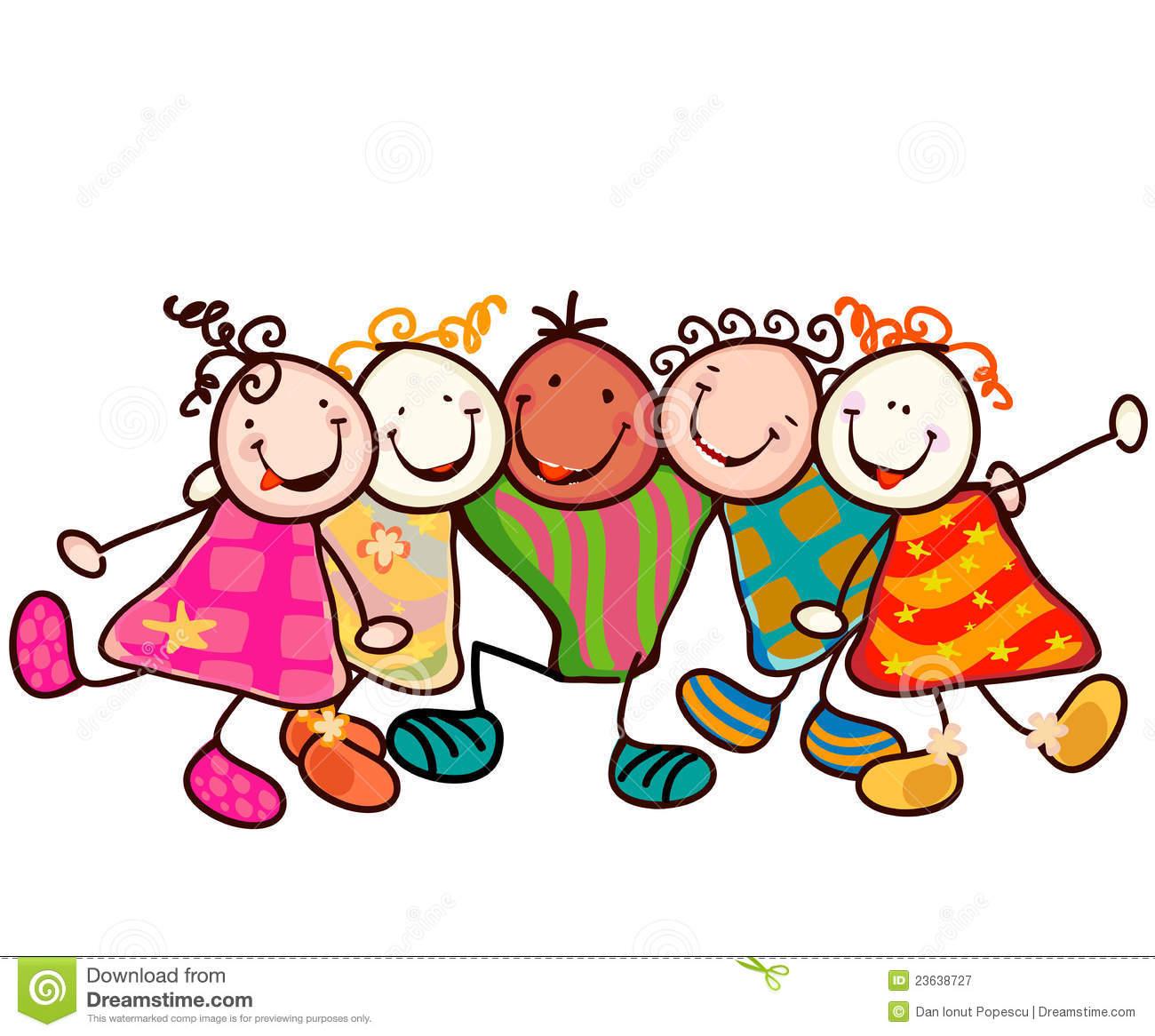 Children hug clipart » Clipart Station.