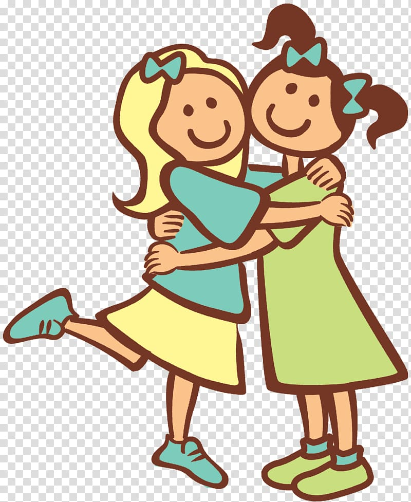 Hug Free content Website , Hugging transparent background PNG.