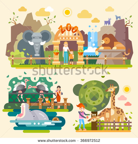 Zoo Stock Images, Royalty.