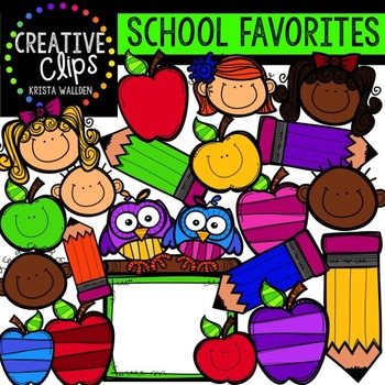 HUGE FREEBIE! School Favorites {Creative Clips by Krista.