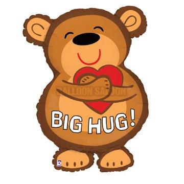Big Bear Hug Clipart.