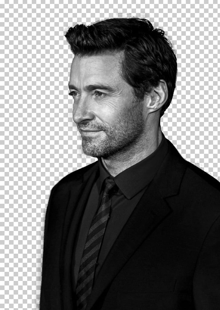 Hugh Jackman PNG, Clipart, Black And White, Celebrities, Celebrity.