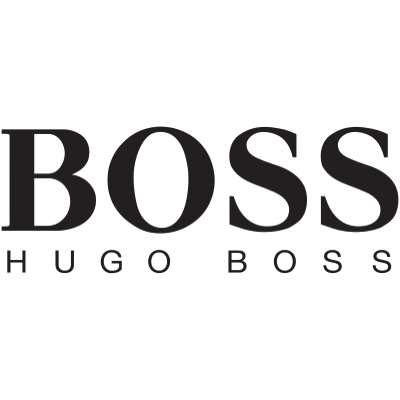Hugo Boss Logo transparent PNG.