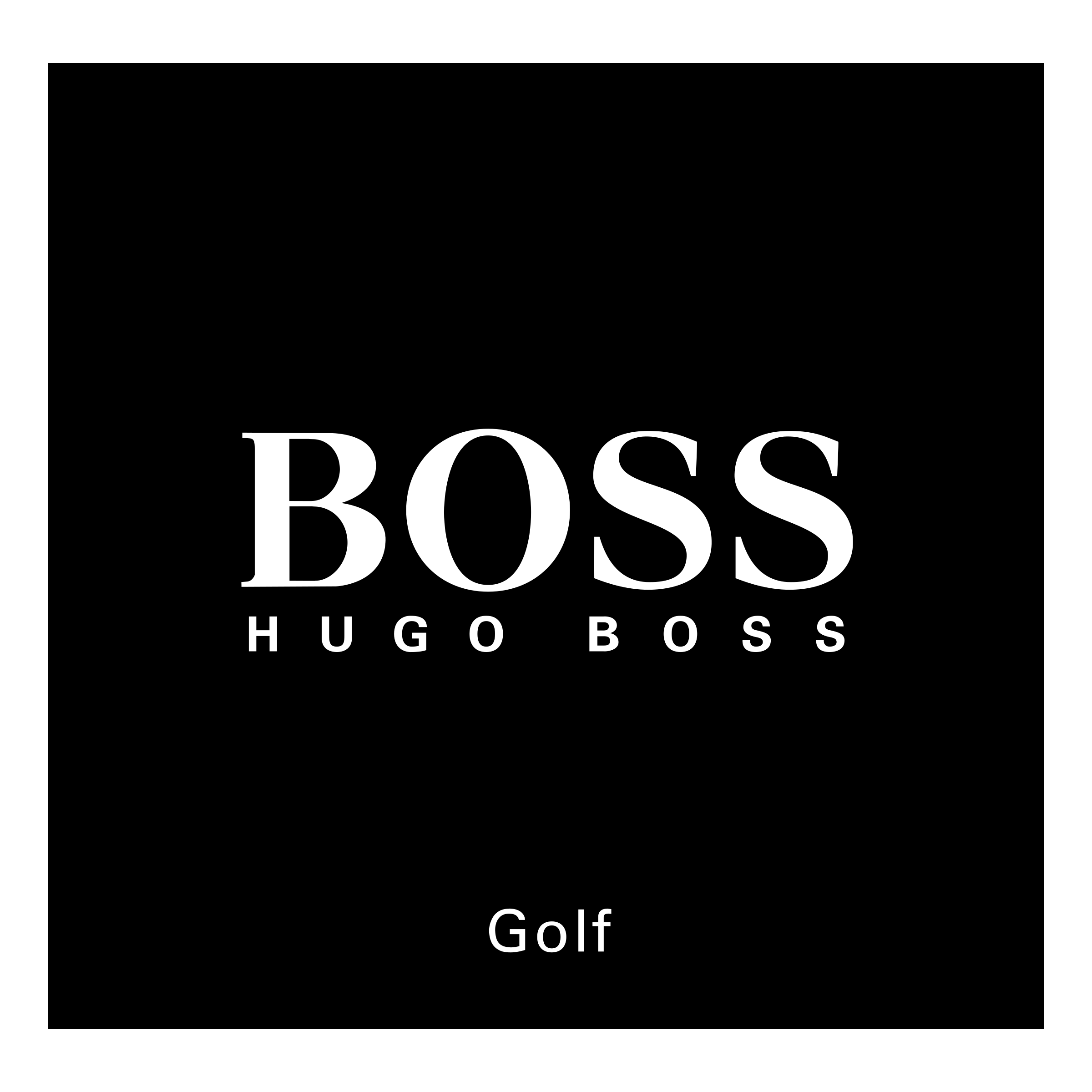 Boss Hugo Boss Golf Logo PNG Transparent & SVG Vector.