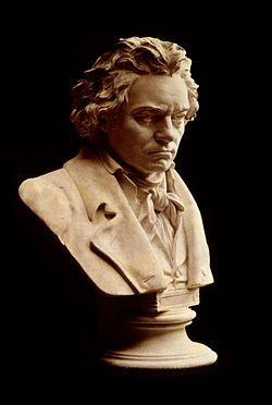 Busto de Beethoven, por Hugo Hagen..