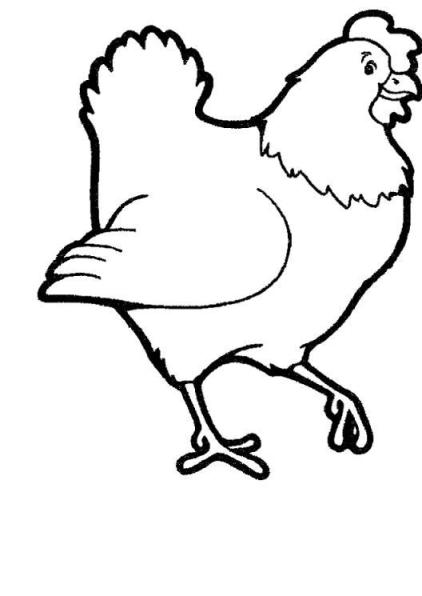 Clipart huhn 2 » Clipart Station.