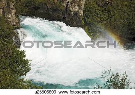 Stock Photograph of Huka Falls, New Zealand u25506809.