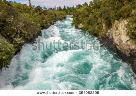 Waikato River Stock Photos, Royalty.