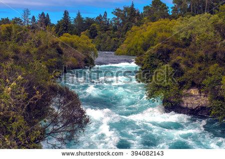 Huka Falls Banque d'Image Libre de Droit, Photos, Vecteurs et.