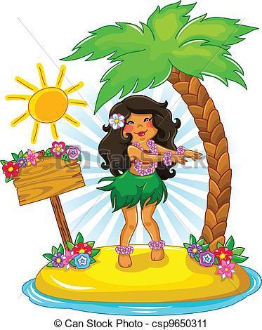 Hula Illustrations and Clip Art. 737 Hula royalty free.