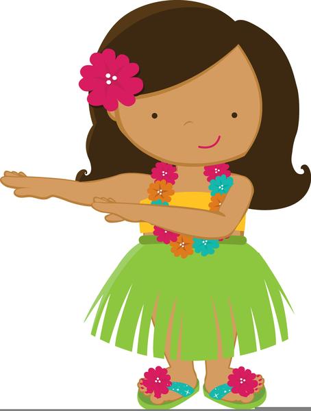 Free Clipart Hula Dancer.