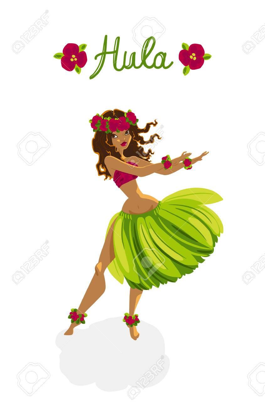 Beautiful polynesian girl.