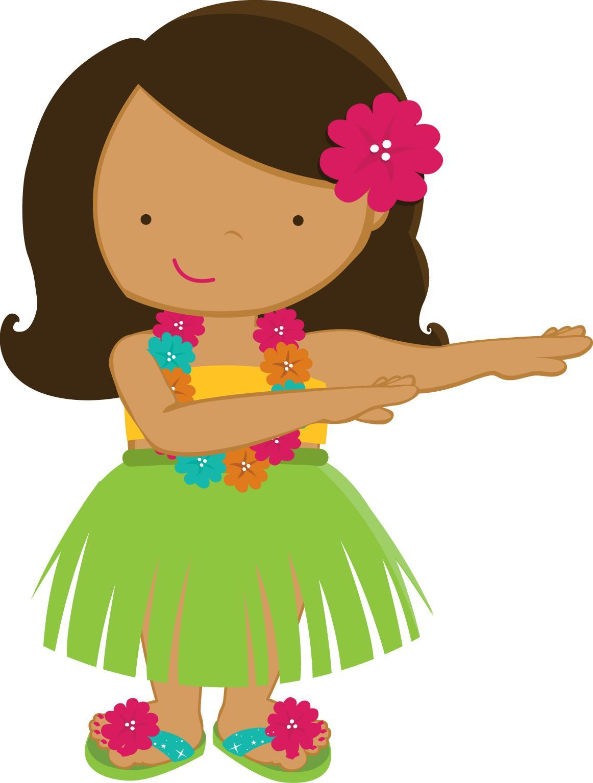 Hula Dancer Drawing.
