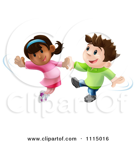 Boy And Girl Dancing Clipart.