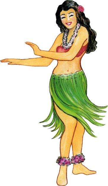 45+ Hula Girl Clipart.