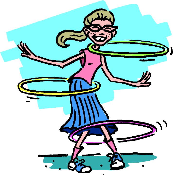 Hula Hoop Clip Art N65 free image.