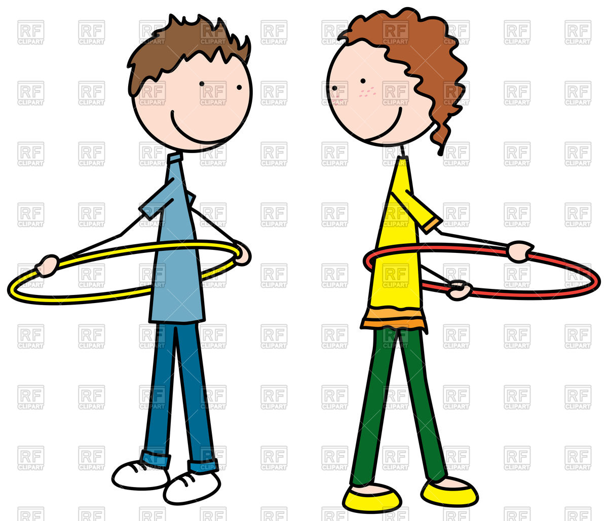 Hula hoop clipart 2 » Clipart Station.