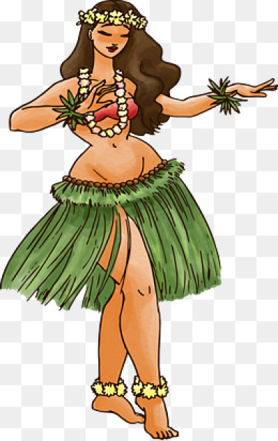 Hula Dance PNG Images.
