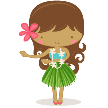 Download Free png Hula Girl SVG scrapbook cut f.