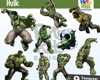 Hulk Christmas Clipart.