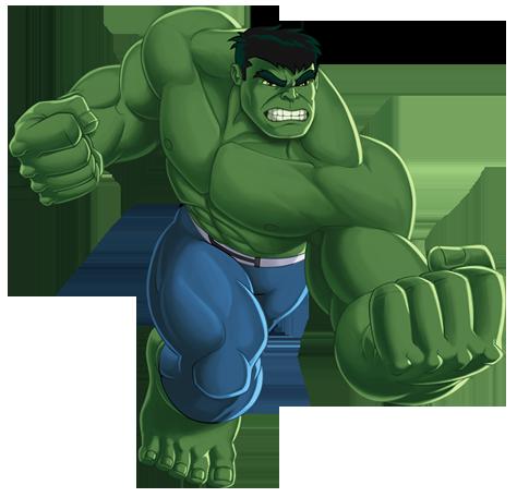 Hulk clip art.