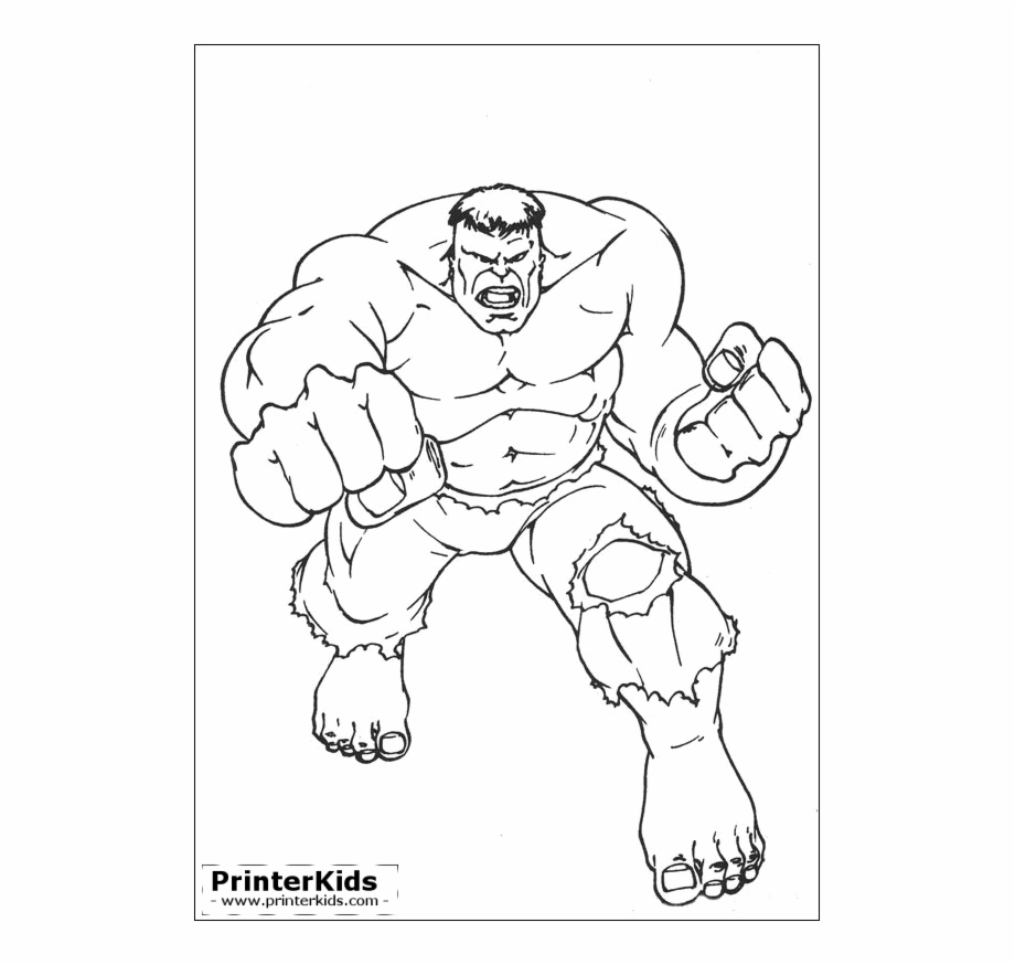 Free Hulk Black And White Clipart, Download Free Clip Art.
