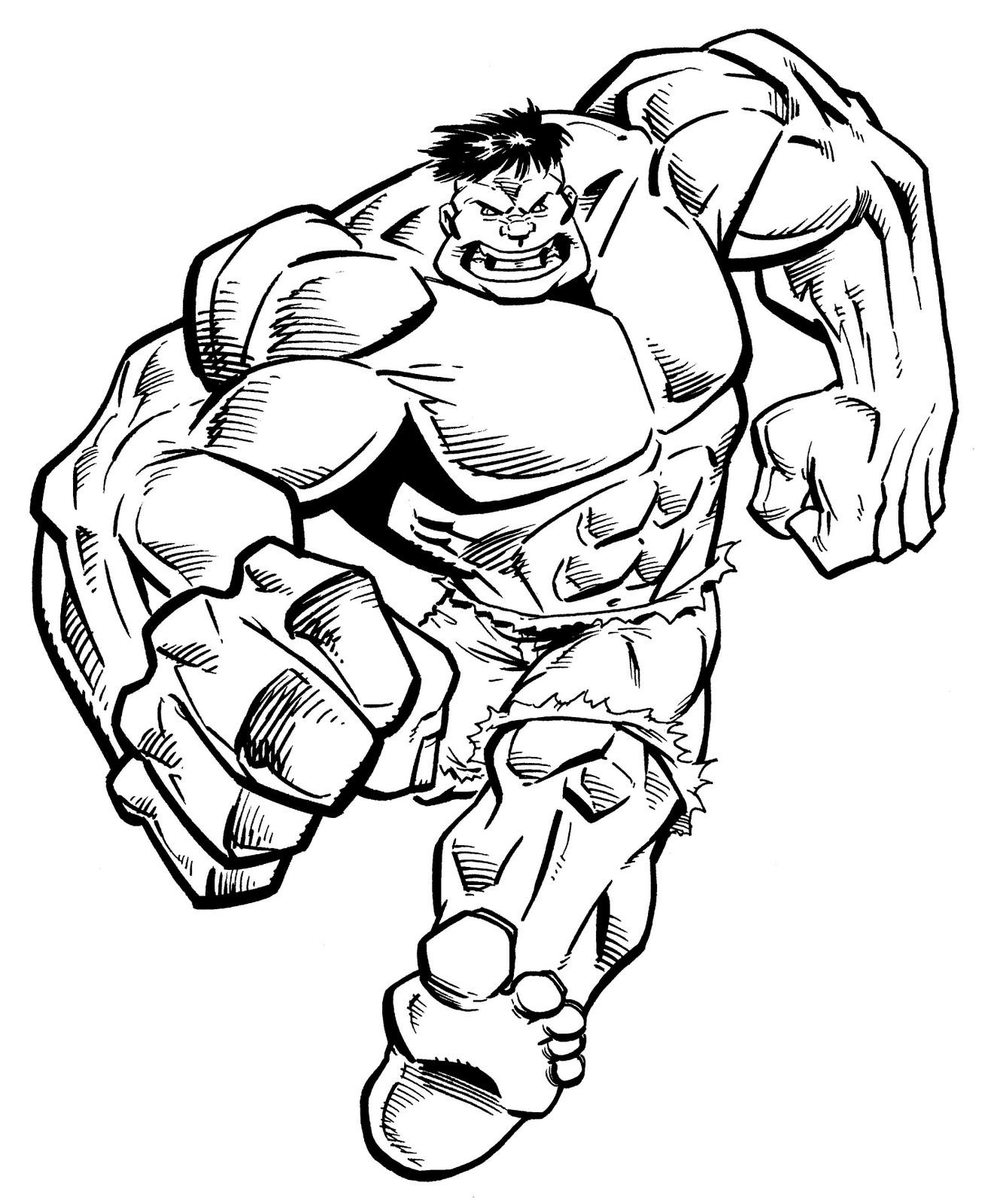 Hulk clipart black and white clipartfox.